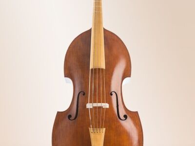 Violone by Oskar Kappelmeyer, five-string, after Johann Joseph Stadlmann Vienna 1748