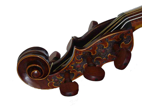 Eight-foot violone from Oskar Kappelmeyer, Passau